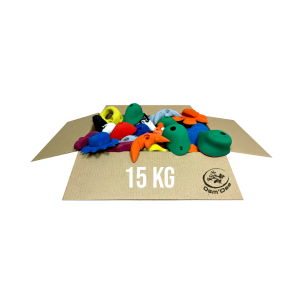 Pack of 14 climbing holds - MINUS