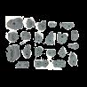prise escalade osmose lot rocky gris