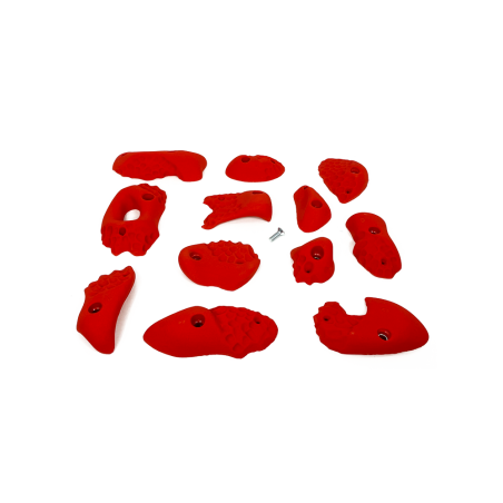 prise escalade osmose lot corails rouge 3