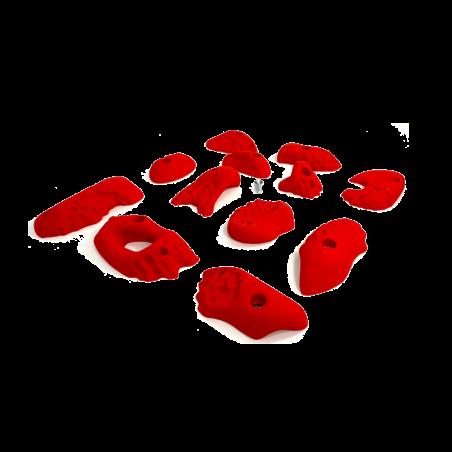 prise escalade osmose lot corails rouge 2