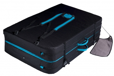 Crashpad Béal Double Air Bag Turquoise Plié