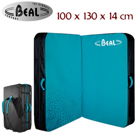 Crashpad Béal Double Air Bag Turquoise nouveau modèle