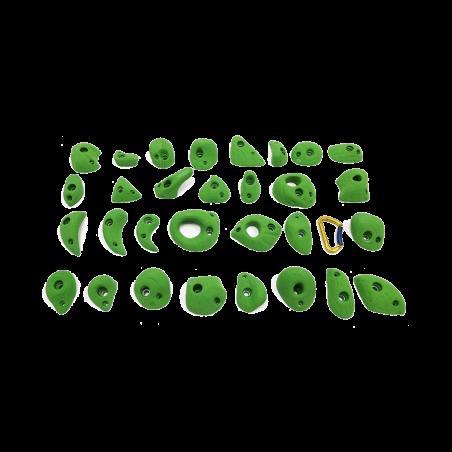 prise escalade osmose lot banga vert clair