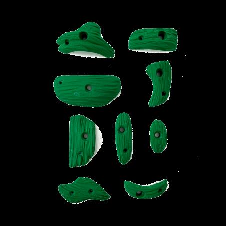prise escalade osmose lot savane vert