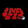 prise escalade osmose lot friction rouge 2